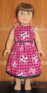 Crystal MH dress doll clothes patterns