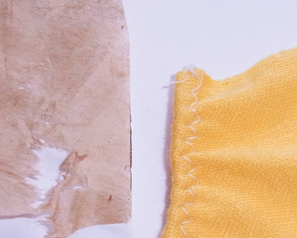 tear paper off when sewing