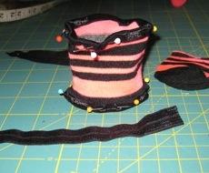 2. Ladies old sock in progress