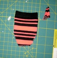Step 4 making doll clothes underpants