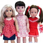 18 Inch American Girl 3 Doll Clothes Patterns 3 Way Skirt