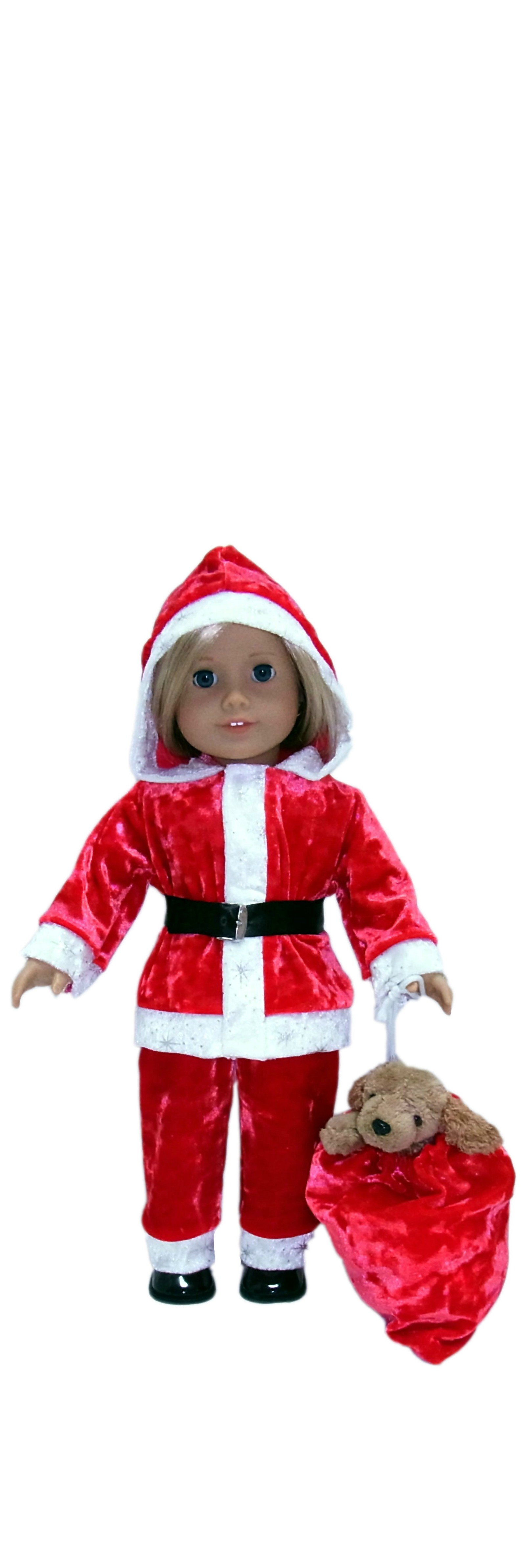 American Girl Santa Suit Pattern