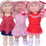 Cabbage Patch Kid Doll Clothes Patterns 3 Way Skirt