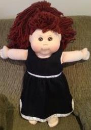 summer doll clothes dress denim