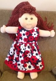 summer doll clothes dress