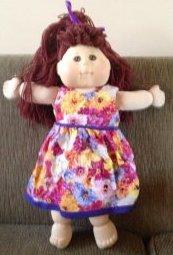 summer doll clothes dress
