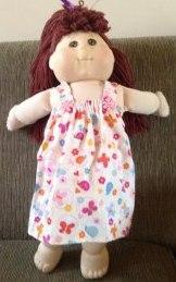 summer nightie doll clothes