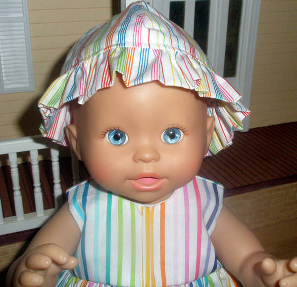 Debbi resizing American Girl doll clothes pattern Hat