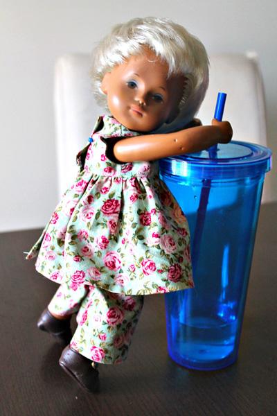 Sasha Baby doll resizing American Girl Doll Clothes Patter Summer Dress