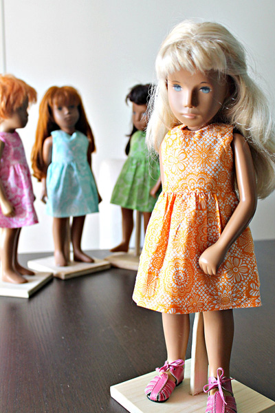 Sasha doll resizing American Girl Doll Clothes Patter Summer Dress