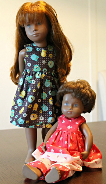 Lauri Sasha Doll Resized Doll Clothes Pattern Summer Dress