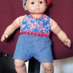 Laurie Bitty Baby American Girl Doll Clothes Pattern shorts and top
