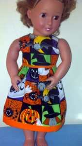 Halloween dress by Betty