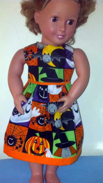 Halloween dress by Betty