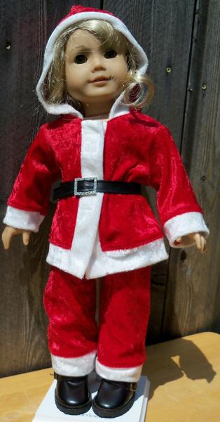 Betty funky fur Santa