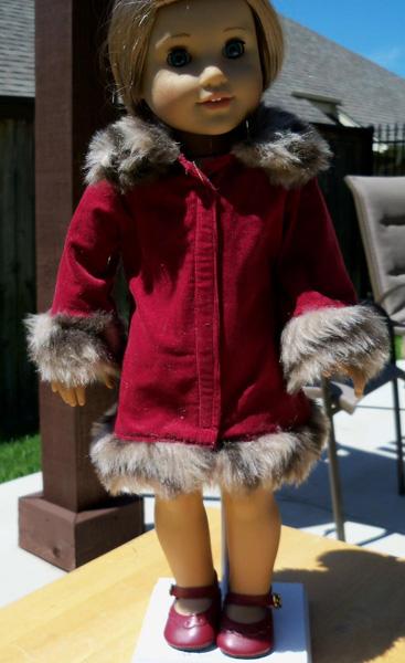Betty fur trimmed jacket