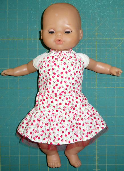 15 inch doll 3way skirt and halter top
