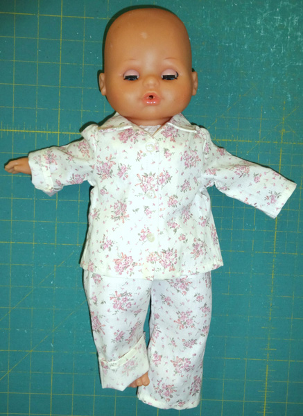 15 inch doll pyjamas