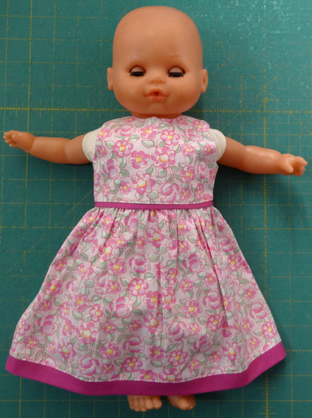 15 inch doll summer dress normal