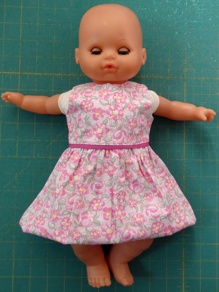 15 inch doll summer dress short