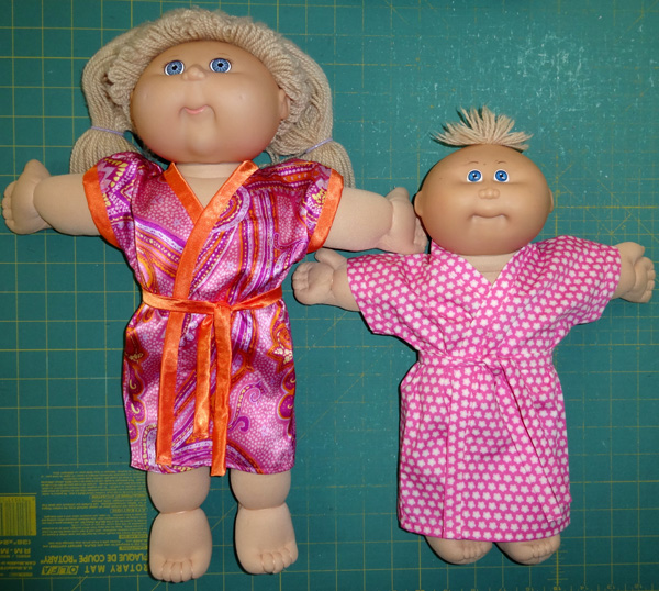 Cabbage Patch Kids dressing gowns