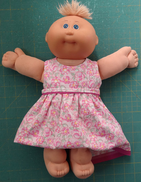 Cabbage Patch Kids summer dress short