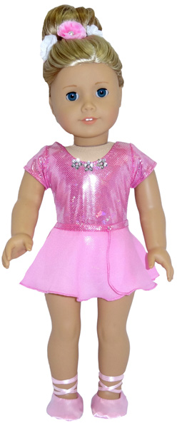 American Girl Doll Clothes Patterns Ballerina front