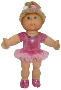 Cabbage Patch Kids Ballerina Tutu Doll Clothes Patterns