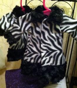 Diane Howard Fur Trimmed Jacket