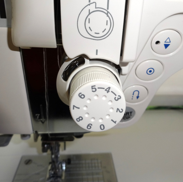 tension dial sewing machine