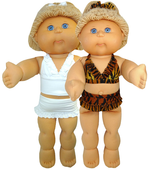 Cabbage Patch Kids Bikini Doll Clothes Patterns