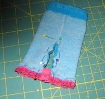 4. Pin inside leg
