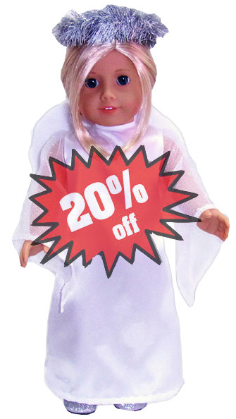 American Girl Doll Clothes Pattern Angel 20