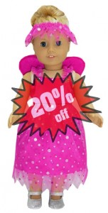 American Girl Doll Clothes Pattern Fairy