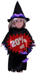 American Girl Doll Clothes Pattern Witch