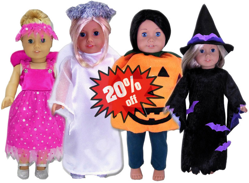 American Girl Doll Clothes Patterns Halloween 20