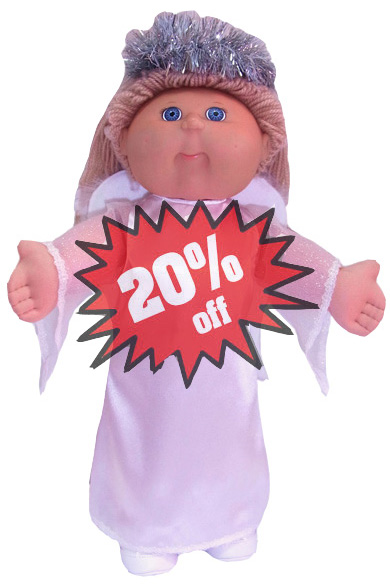 Cabbage Patch Kids Doll Clothes Pattern Angel 20