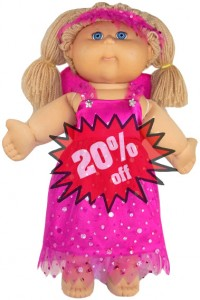 Cabbage Patch Kids Doll Clothes Pattern Fairy 20