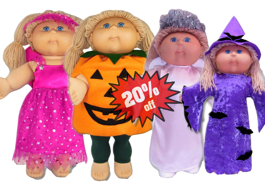 Cabbage Patch Kids Doll Clothes Pattern Halloween 20