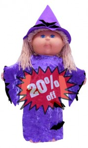 Cabbage Patch Kids Doll Clothes Pattern Witch 20