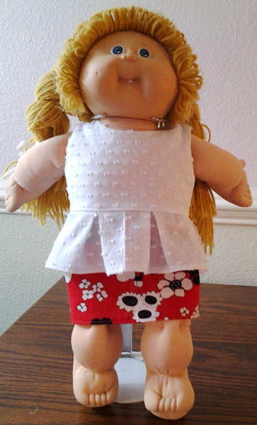 doll outfit Cindy Halle