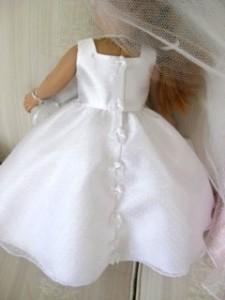 wedding dress back - peggy