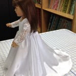 Wedding dress side Sherry