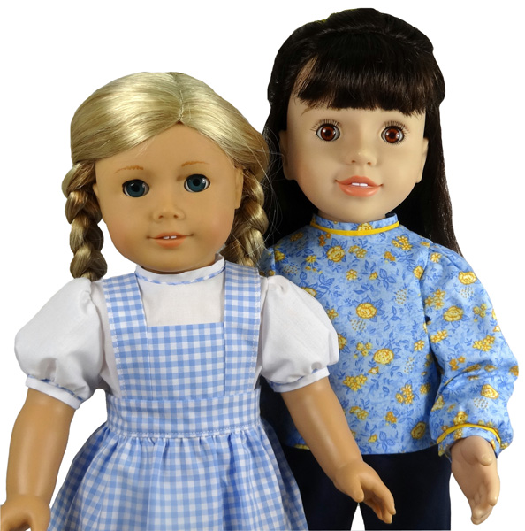 18 Inch American Girl Doll Clothes Pattern Blouse