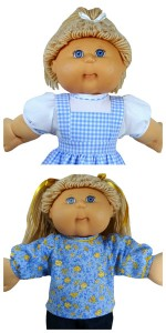Cabbage Patch Doll Clothes Patterns Blouse