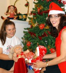 Rosie and Alyssa Christmas