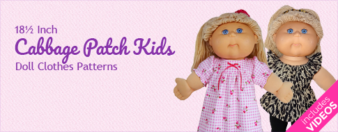 Cabbage Patch Kids Doll Clothes Patterns
