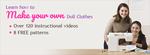 Learn How to Sew Doll Clothes Video Course
