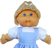 Cabbage Patch Kids Doll Clothes Patterns Blouse Short Sleeve