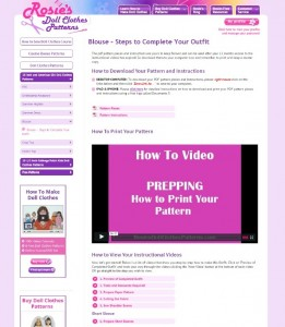 Steps to complete your outfit page